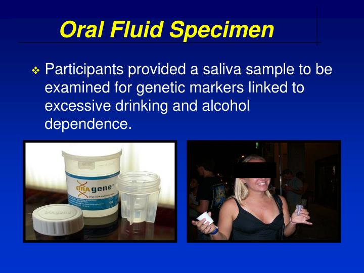 Oral Fluid Specimen