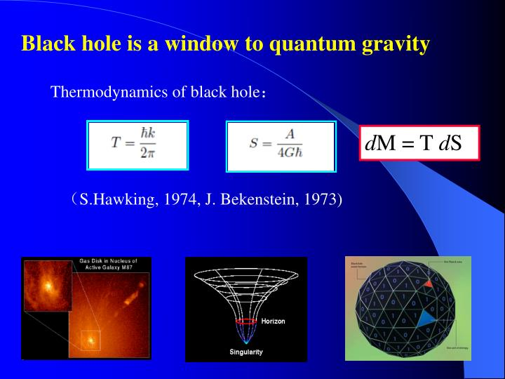 Black hole is a window to quantum gravity