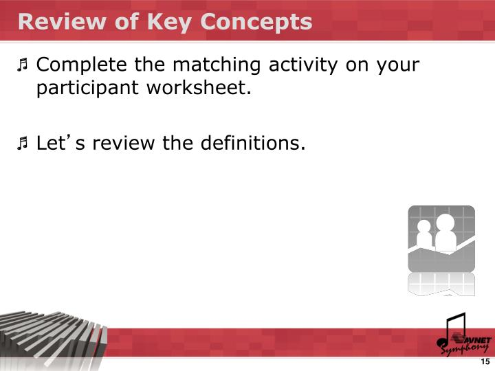 Review of Key Concepts