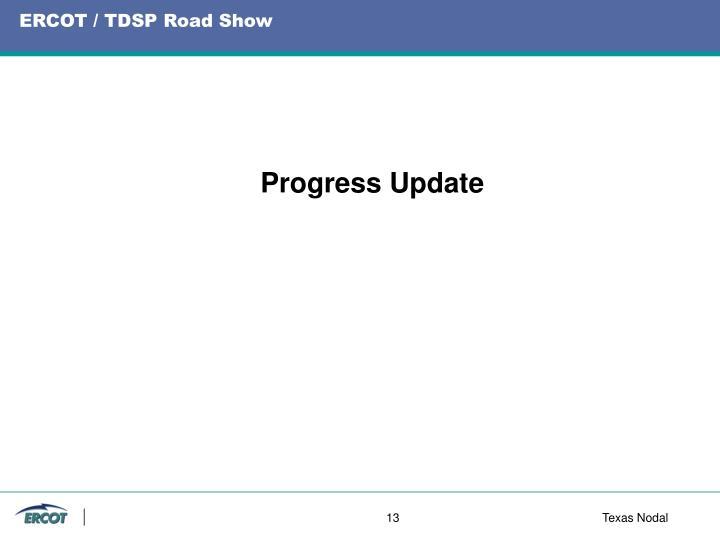 ERCOT / TDSP Road Show