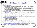 ec technology needs