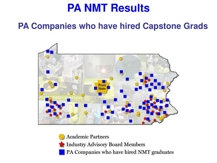 PA NMT Results