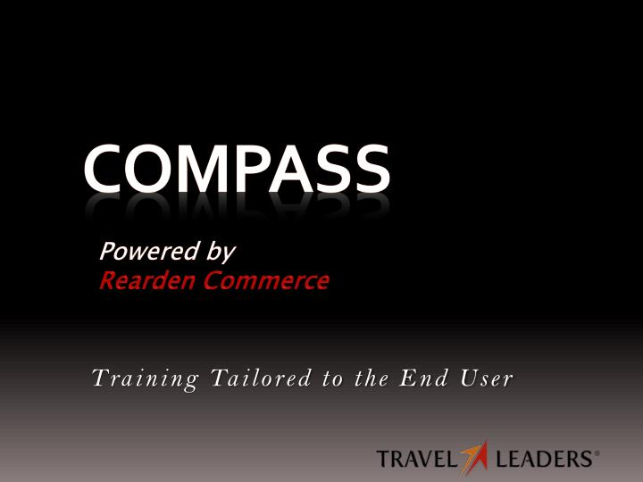 compass powered by rearden commerce