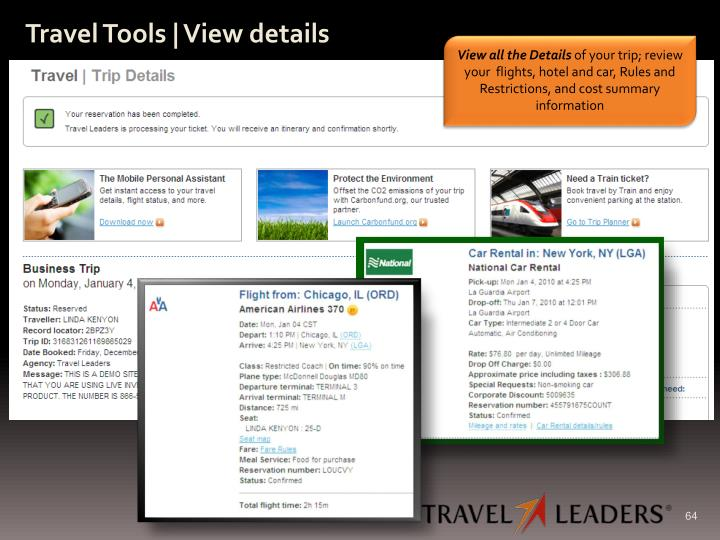 Travel Tools | View details
