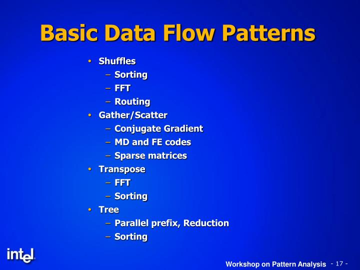 Basic Data Flow Patterns