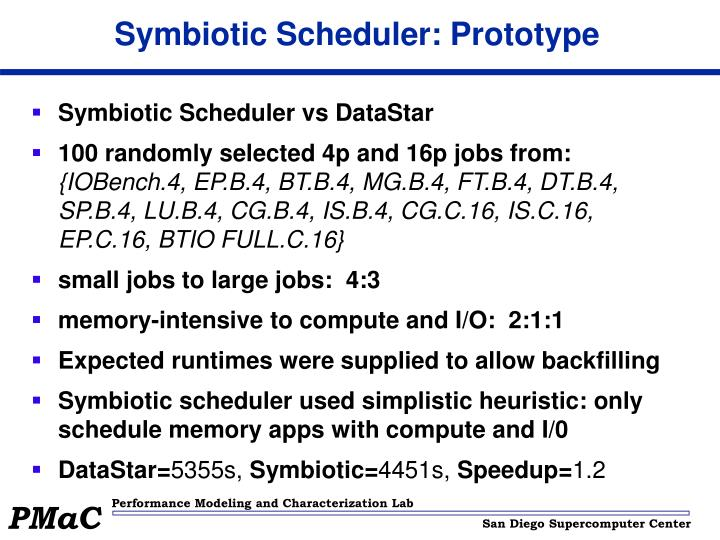 Symbiotic Scheduler: Prototype