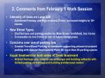 2 comments from february 5 work session3