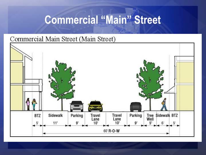 """Commercial """"Main"""" Street"""