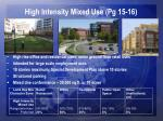 high intensity mixed use pg 15 16
