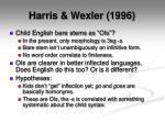 harris wexler 1996