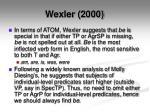 wexler 2000