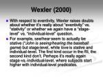 wexler 20001