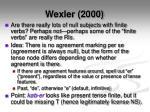 wexler 20003