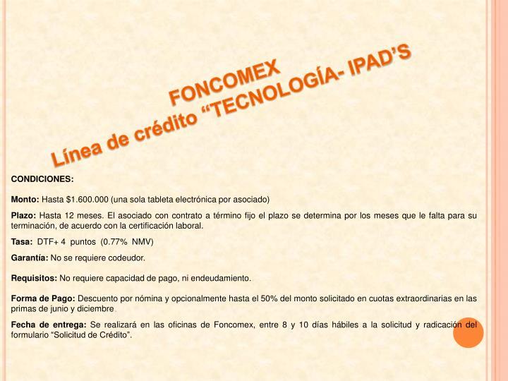 FONCOMEX