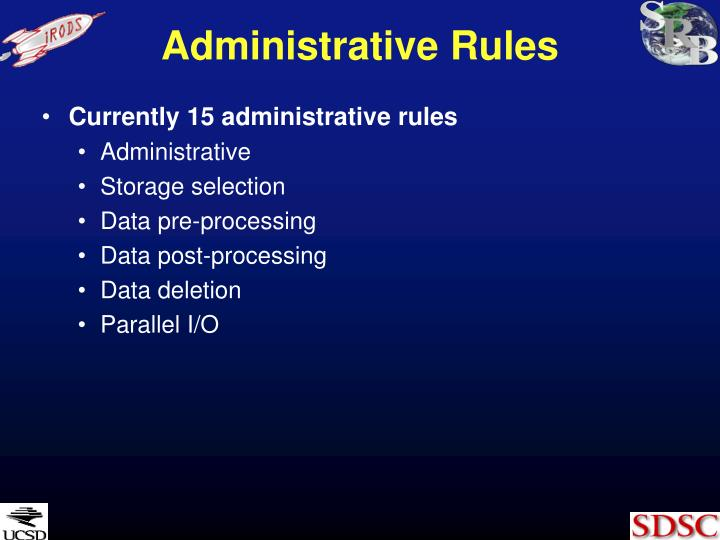 Administrative Rules