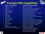 example era capabilities
