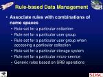 rule based data management1