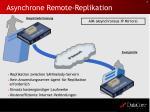 asynchrone remote replikation
