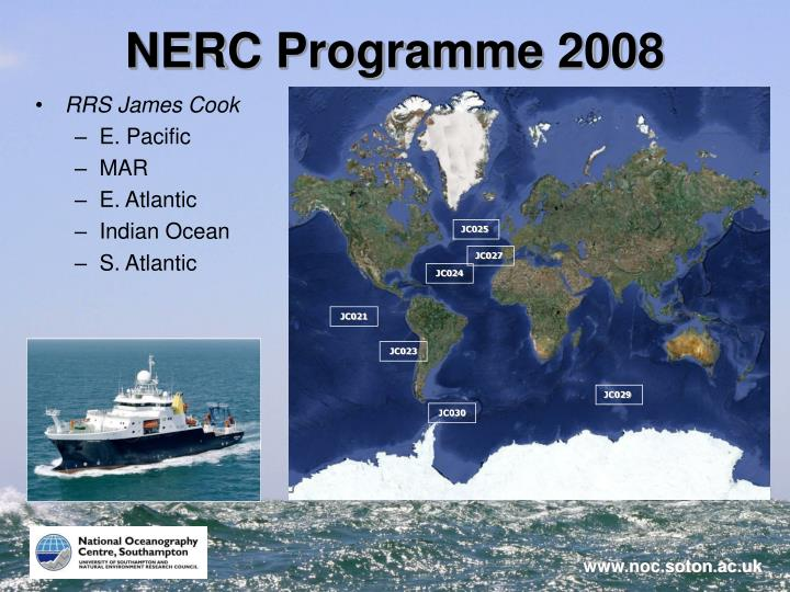 NERC Programme 2008