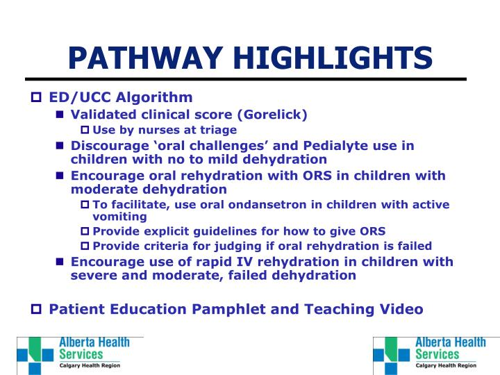 PATHWAY HIGHLIGHTS
