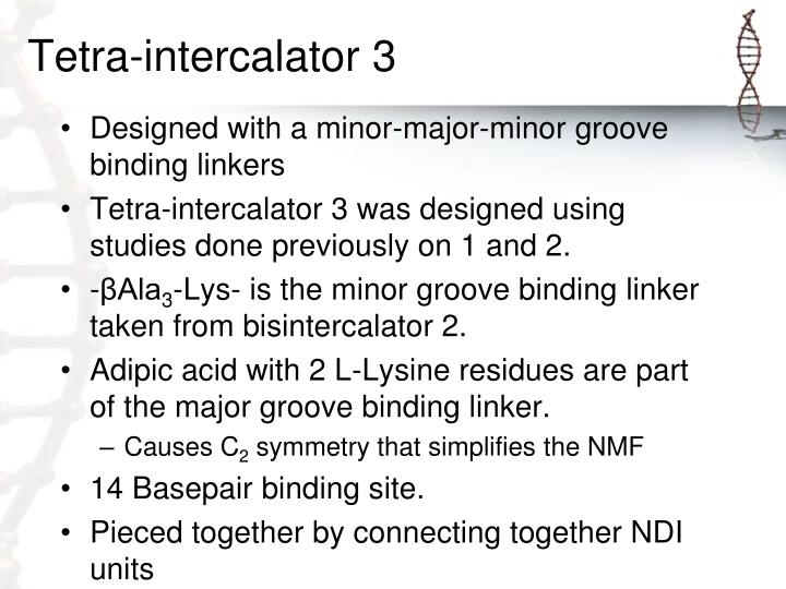 Tetra-intercalator 3
