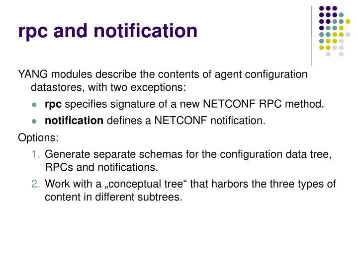 rpc and notification