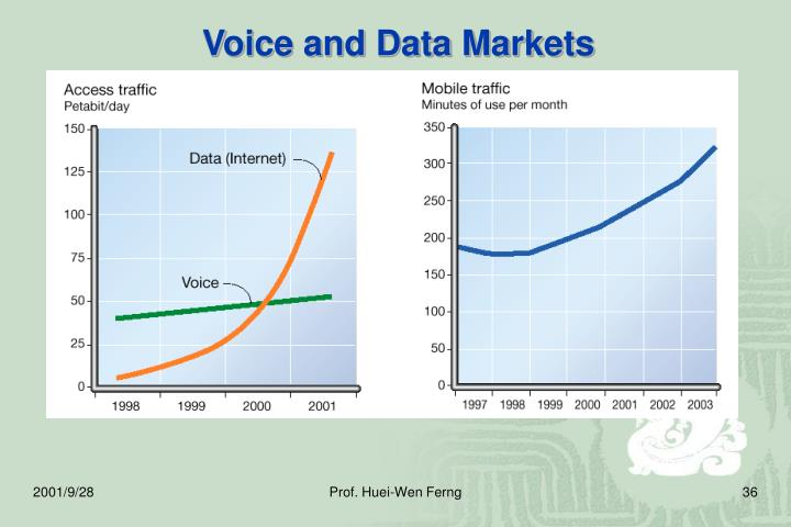 Voice and Data Markets