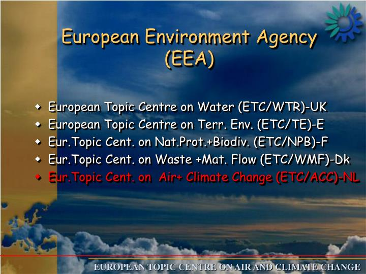 European environment agency eea