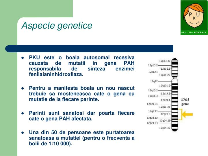 Aspecte genetice