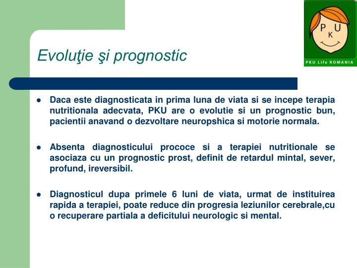 Evoluţie şi prognostic