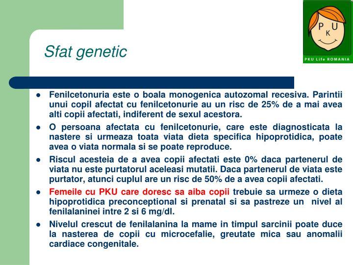 Sfat genetic