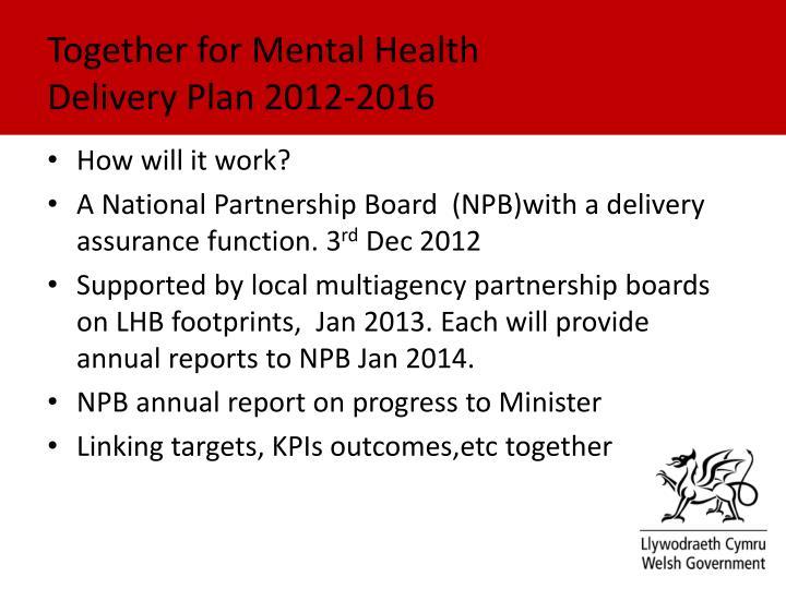 Together for Mental Health