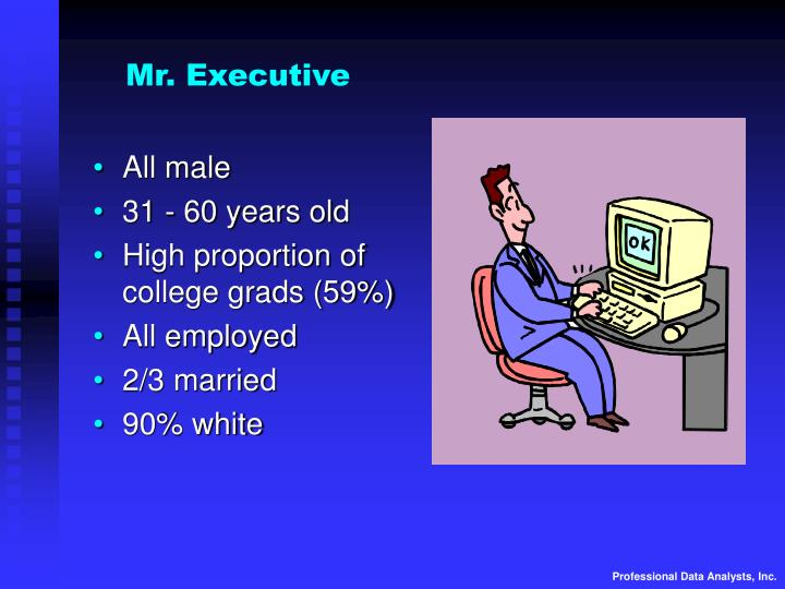 Mr. Executive