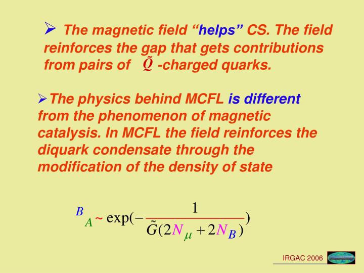 """The magnetic field """""""