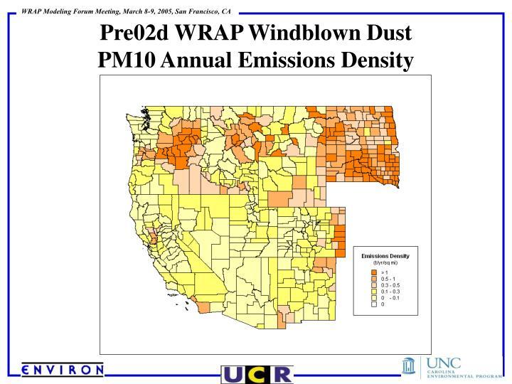Pre02d WRAP Windblown Dust