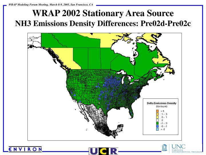 WRAP 2002 Stationary Area Source