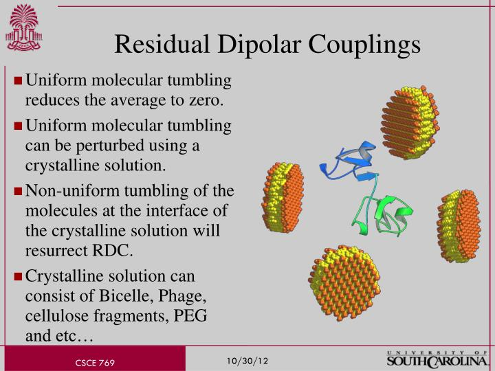 Residual Dipolar Couplings