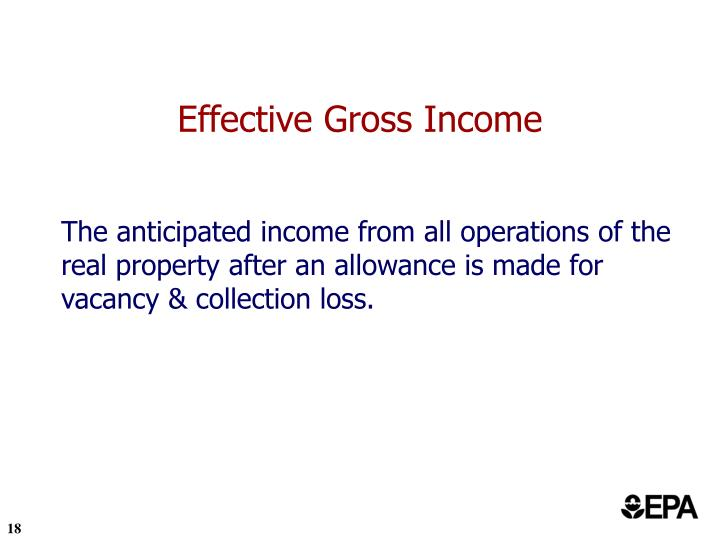 Effective Gross Income