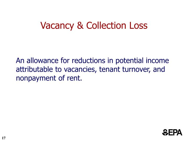 Vacancy & Collection Loss