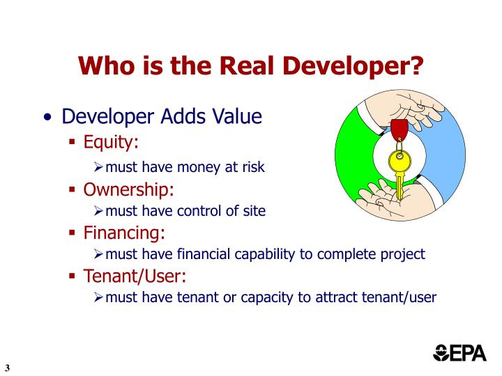 Who is the real developer