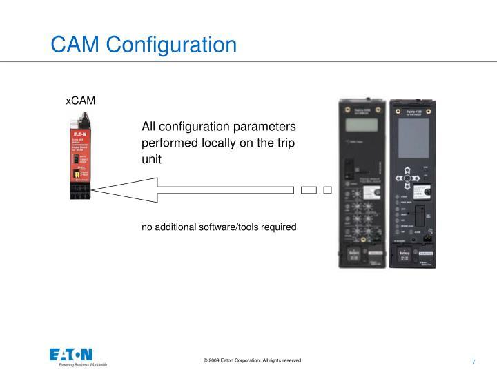 CAM Configuration
