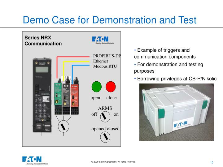 Demo Case for Demonstration and Test