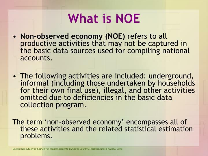 What is NOE