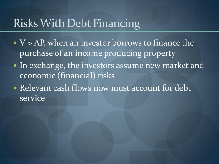 Risks With Debt Financing