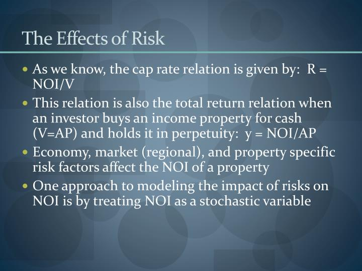 the effects of risk