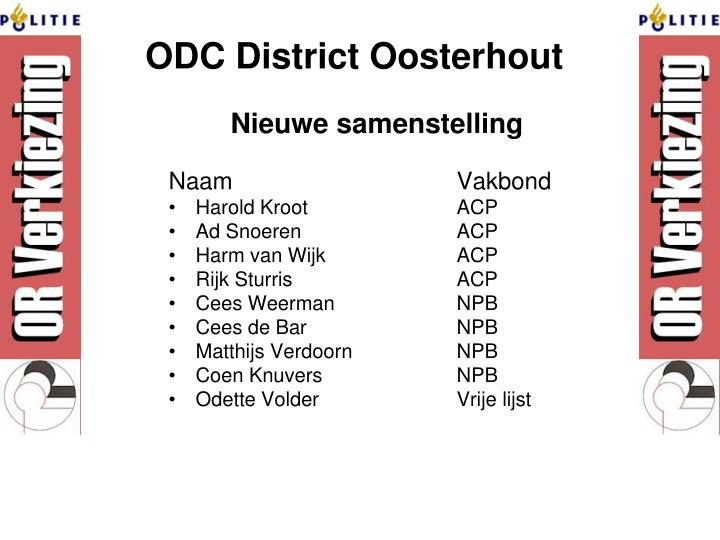 ODC District Oosterhout