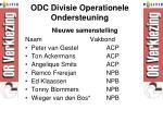 odc divisie operationele ondersteuning1