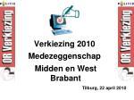 verkiezing 2010