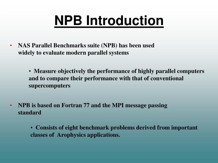 NPB Introduction