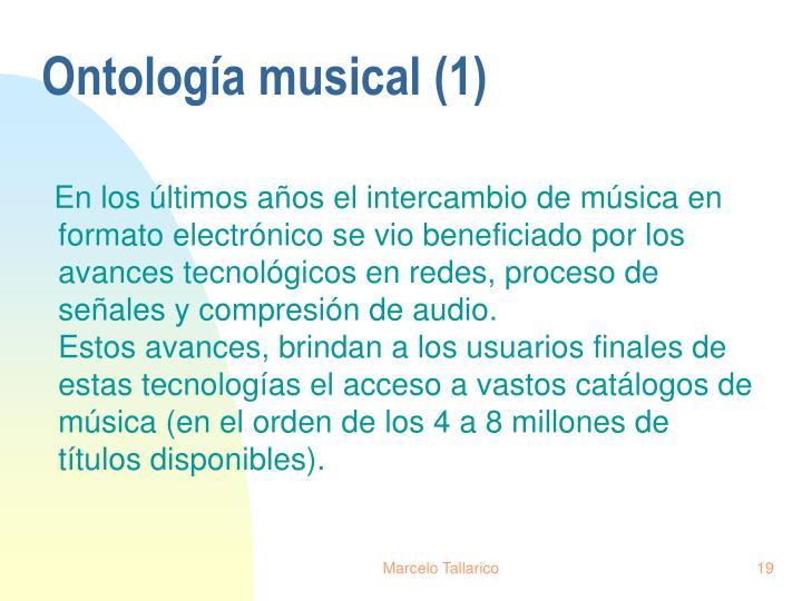 Ontología musical (1)